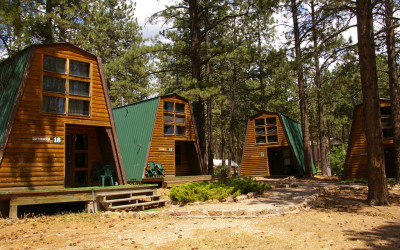 Cabins in the Pines